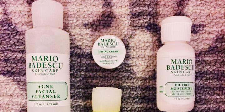 Mario Badescu acne starter kitreview