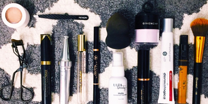 What's in my everyday makeupbag