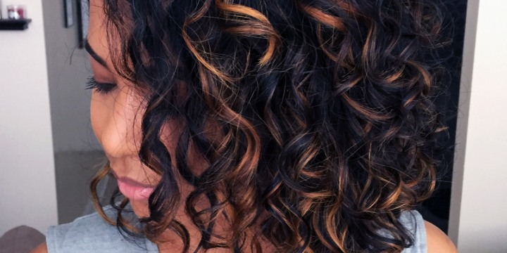 My wash and go routine for frizz-freecurls